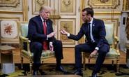 """Tổng thống Pháp giúp ông Trump """"trút gánh nặng"""""""