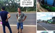 CSGT nói gì về việc người hùng cướp lái cứu 30 hành khách gặp nạn?