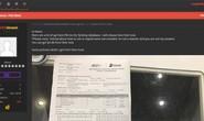 Hacker lại nhá hàng dọa tung dữ liệu của FPT Shop
