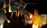"""Vụ """"CSGT đánh nhau với tài xế"""": Lái xe tải lên tiếng """"phản pháo"""""""