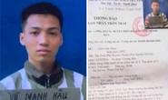 Nam phạm nhân tội giết người trốn khỏi trại giam Bộ Công an