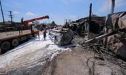 Tai nạn kinh hoàng 6 người chết: Xe bồn bay gây thảm họa