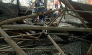 Sập sàn bê tông, 1 công nhân chết, nhiều người bị chôn vùi
