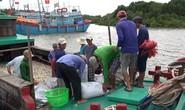 Dân biển Cần Giờ hốt cú chót trước khi tránh bão số 9