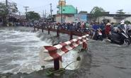 TP HCM: Thanh niên cùng xe máy bị nước cuốn trôi lúc đi làm về