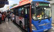 26 xe buýt ở TP HCM đổi màu để phản đối quấy rối tình dục