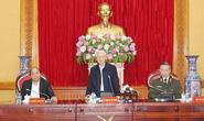 Tổng Bí thư, Chủ tịch nước dự Hội nghị Thường vụ Đảng ủy Công an Trung ương