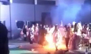 Nữ sinh viên bốc cháy như đuốc tại lễ hội Halloween ở trường sư phạm