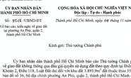 TP HCM xin Chính phủ không đấu giá một khu đất ở quận 2