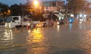 Nước dâng cao, Quốc lộ 1 qua Đà Nẵng tê liệt
