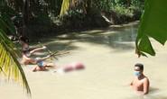 Người chồng dìm chết vợ dưới mương nước bởi 5 thanh tre đã tự tử