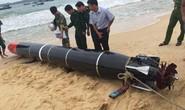 Ngư dân vớt được vật thể lạ có chữ Trung Quốc nghi ngư lôi