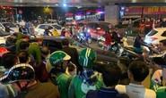 Xế hộp hạ gục 2 xe máy và 1 taxi, 2 phụ nữ mang bầu bị thương