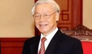 Tổng Bí thư, Chủ tịch nước Nguyễn Phú Trọng làm Chủ tịch danh dự Hội Chữ thập đỏ Việt Nam