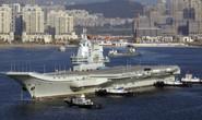 """Trung Quốc: Dự án tàu sân bay bị tham nhũng """"ám"""""""