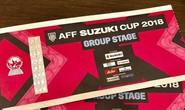 VFF tiếp tục bán vé online trận chung kết Việt Nam - Malaysia, mỗi người được mua 2 vé