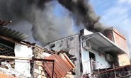 Chủ nhà về quê ăn Tết, tiệm sửa xe cháy lớn