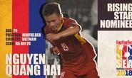Quang Hải được đề cử Cầu thủ trẻ hay nhất Đông Nam Á