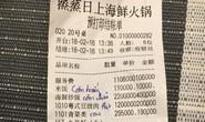 Từ cái phiếu tính tiền bằng tiếng Hoa, nghĩ về lòng yêu nước