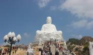 Tượng Phật trong dự án tâm linh của ông Trần Bắc Hà hút khách
