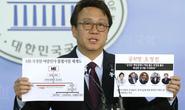Chính khách Hàn Quốc tiêu tan sự nghiệp vì táy máy phụ nữ