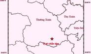Động đất tại huyện biên giới Thanh Hóa