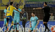 Mất điểm trước Las Palmas, Barcelona gây sốc La Liga