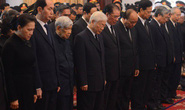 Lãnh đạo Đảng, nhà nước tiễn biệt nguyên Thủ tướng Phan Văn Khải
