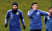 Messi đến Manchester, chờ đối đầu tuyển Ý