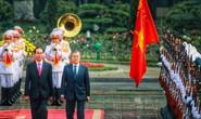 Cận cảnh lễ đón Tổng thống Hàn Quốc Moon Jae In tại Phủ chủ tịch