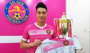 Sài Gòn FC bán áo đấu gây quỹ từ thiện