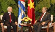 Quan hệ Việt Nam - Cuba vượt thử thách thời gian