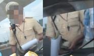 Xuất hiện clip nghi vấn CSGT Rạch Chiếc nhận mãi lộ