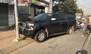 Ô tô tông tổ tuần tra để giải cứu đồng bọn, 6 CSGT bị thương