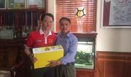 U23 Việt Nam và gia đình nhận đủ quà từ nhà tài trợ dinh dưỡng
