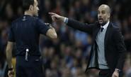 Guardiola dính đòn thù trọng tài, Man City bị loại Champions League