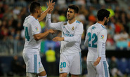 Thắng dễ Malaga, Real Madrid trở lại tốp đầu La Liga