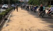 CSGT cứu dòng xe bị nạn tại dốc cầu Ông Lãnh