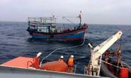 13 ngư dân trên tàu cá chết máy trôi dạt lúc biển động