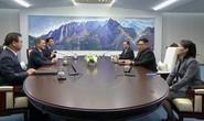 Đội an ninh Triều Tiên rốt ráo dò mìn, tẩy trùng tại Nhà Hòa bình