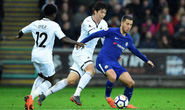 Thắng nhọc Swansea, Chelsea áp sát vé Champions League