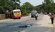 Tai nạn kinh hoàng giữa xe buýt với 3 xe máy, 5 người thương vong