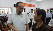 Cử tri quận 2 bất ngờ xin gặp Bí thư Thành ủy TP HCM Nguyễn Thiện Nhân
