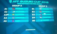 Bốc thăm AFF Cup: Việt Nam tránh được bảng tử thần