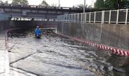 Hầm chui ở TP HCM ngập nặng sau mưa