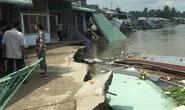 Lại sạt lở bờ sông Ô Môn, 5 căn nhà bị hà bá nuốt chửng