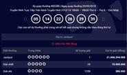 Bốn kỳ quay số liên tiếp, 2 vé Vietlott trúng tổng cộng 25 tỉ đồng