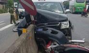 Tai nạn liên hoàn với xe ô tô biển xanh, 2 người nguy kịch