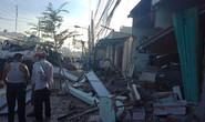 Vũng Tàu: Kinh hoàng xe bồn tông sập nhà trên đường 30 tháng 4