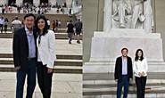 Rộ ảnh anh em bà Yingluck ở Mỹ